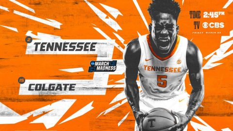 Tennessee Men's Basketball faces Colgate in the first round of the 2019 NCAA Tournament, Friday. (APSU Sports Information)