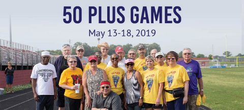 Active adults should register for Clarksville Parks and Recreation's 50 Plus Games before April 20th for discount.
