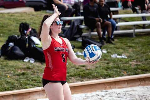 Austin Peay Beach Volleyball takes on North Alabama at home Thursday. (APSU Sports Information)