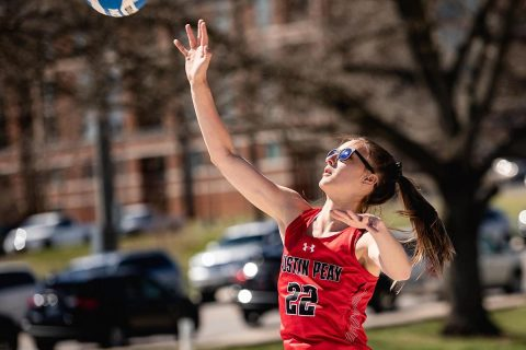 Austin Peay Beach Volleyball hits the road this weekend to take part in the Seminole Beach Battle, Friday and Saturday. (APSU Sports Information)