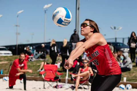 Austin Peay Beach Volleyball drops two matches Friday at Seminole Beach Battle. (APSU Sports Information)