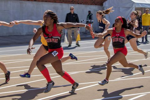Austin Peay Women's Track and Field puts forth a good performance at Vanderbilt Black and Gold. (APSU Sports Information)