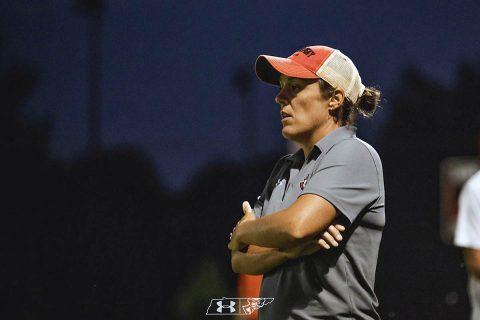 Austin Peay Women's Soccer Head Coach Naomi Kolarova. (APSU)