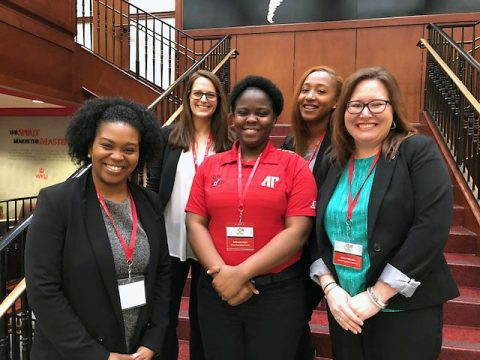 APSU staff and students discussed high-impact practices during the national HIP in States conference.