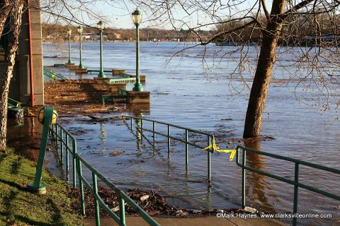 Volunteers to remove debris at Clarksville's McGregor Park and Liberty Park.