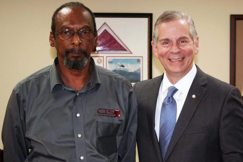 """Arthur Bing Sr., left, has announced he will retire as Director of Clarksville Transit System on June 30th. """"We're going to miss his steady hand and his wise counsel, but we wish him all the best as he moves into this next chapter of his life,"""" Clarksville Mayor Joe Pitts said."""