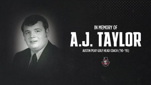 Former Austin Peay head men's golf coach Albert Taylor passes away at 72. (APSU Sports Information)