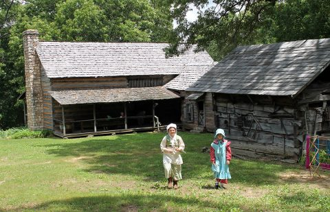 Historic Collinsville Pioneer Settlement Opens April 20th