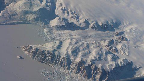 A Greenland glacier. (NASA)