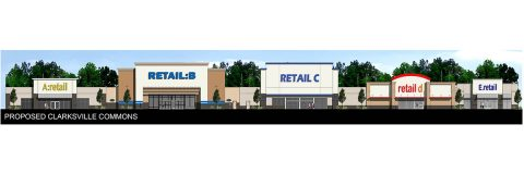 Construction to Begin Immediately at vacant Kmart Property with Five National Retailers Slated to Open by Late Fall.