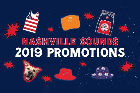 15 Fireworks Shows and Four Themed Weekends Highlight Packed Promotions Calendar for Nashville Sounds at First Tennessee Park. (Nashville Sounds)