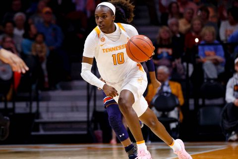 Tennessee Women's Basketball senior Meme Jackson scored 20 points, connected on five threes and dished six assists in Lady Vols win at Ole Miss, Saturday. (UT Athletics)