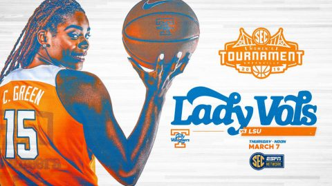 Tennessee Women's Basketball begins SEC Tournament facing LSU, Thursday. (UT Athletics)