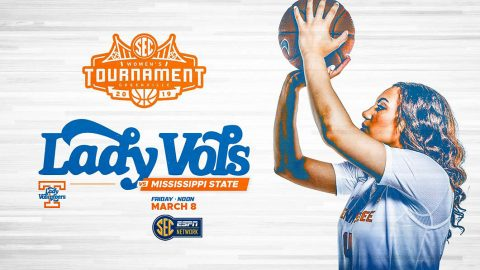 Tennessee Women's Basketball faces Mississippi State in quarterfinal round of the SEC Tournament, Friday. (UT Athletics)