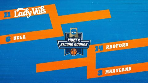 #11 seed Tennessee Women's Basketball faces #6 seed UCLA in the NCAA Tournament, Saturday. (UT Athletics)