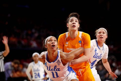 Tennessee Women's Basketball rallies late but falls to #20/24 UCLA 89-77 in first round of the NCAA Tournament, Saturday. (UT Athletics)