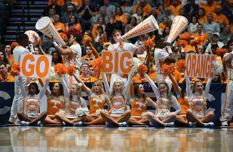 Tennessee Vols to start NCAA Tournament run on Friday, March 22nd in Columbus, Ohio against Colgate. Tip off will be around 1:45pm CT and televised on CBS. (Christopher Hanewinckel-USA TODAY Sports)