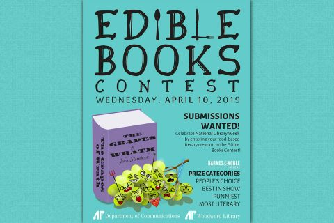 Austin Peay State University Edible Book Contest to be held April 10th.