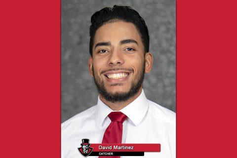 2018-19 APSU Baseball - David Martinez