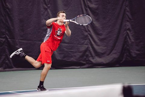 Austin Peay Men's Tennis hosts Tennessee Tech Sunday at noon. (APSU Sports Information)