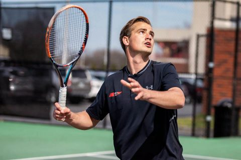 Austin Peay Men's Tennis travels to Eastern Illinois, Friday. (APSU Sports Information)