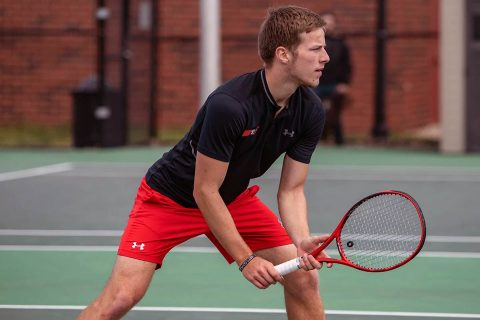Austin Peay Men's Tennis takes down Eastern Illinois 4-0, Friday. (APSU Sports Information)