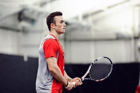Austin Peay Men's Tennis falls 5-2 to Belmont at home, Saturday. (APSU Sports Information)