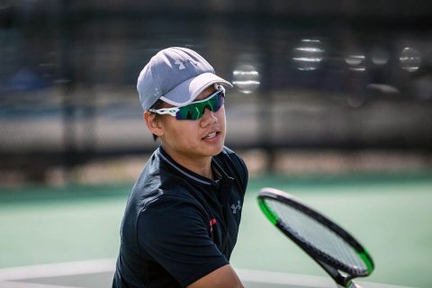 Austin Peay Men's Tennis begins 2019 OVC Tournament play facing Eastern Illinois at 2:00pm, Friday. (APSU Sports Information)