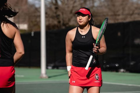 Austin Peay Women's Tennis plays Southeast Missouri and UT Martin at home this weekend. (APSU Sports Information)