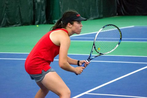 Austin Peay Women's Tennis continues unbeated season with sweep of Eastern Illinois, Friday. (APSU Sports Information)