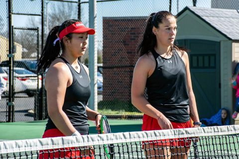 Austin Peay Women's Tennis plays Southeast Missouri Saturday in Nashville Tennessee at the Centennial Sportsplex in OVC Tournament Semifinals. (APSU Sports Information)