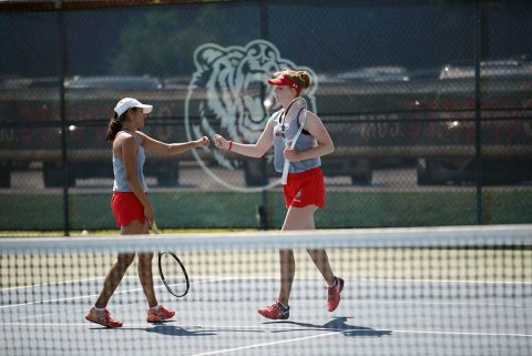 Austin Peay Women's Tennis to play UT Martin for the OVC Championship Sunday morning. (APSU Sports Information)