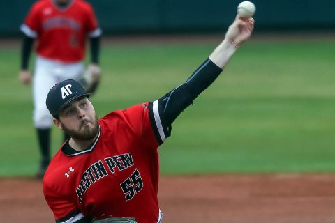 Austin Peay Baseball takes down Eastern Kentucky, 8-1, Friday night. (APSU Sports Information)