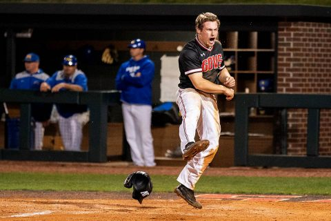 Austin Peay Baseball gets walkoff win over Morehead State Friday night at Raymond C. Hand Park. (APSU Sports Information)