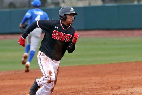Austin Peay Baseball falls 6-3 to UT Martin Saturday in Game 1 of a doubleheader. The Govs secured a 5-4 win in Game 2. (Robert Smith, APSU Sports Information)