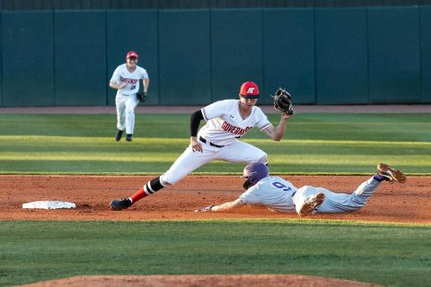 Austin Peay Baseball loses at Middle Tennessee 7-1, Tuesday. (APSU Sports Information)