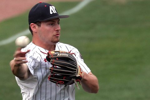 Austin Peay Baseball moves into a tie with Belmont at the top of the OVC with Sunday's home win over SIU Edwardsville. (APSU Sports Information)