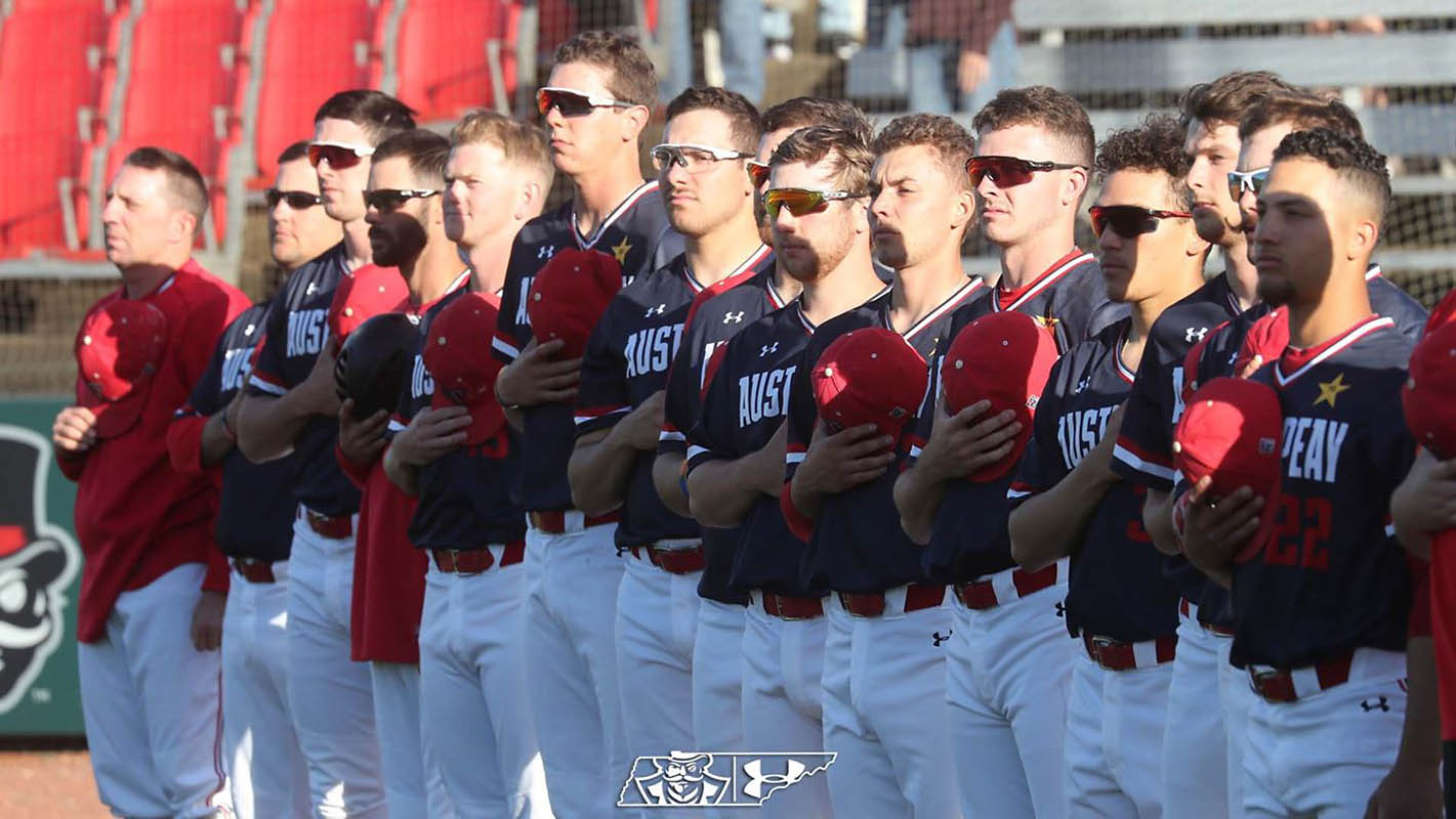Austin Peay Baseball to hold Military Appreciation Day, Saturday, May 4th. (APSU Sports Information)