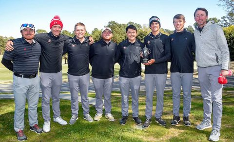 Austin Peay Men's Golf hold off Radford, USC Upstate and Gardner-Webb for runner up at Wofford Invitational, Tuesday. (APSU Sports Information)