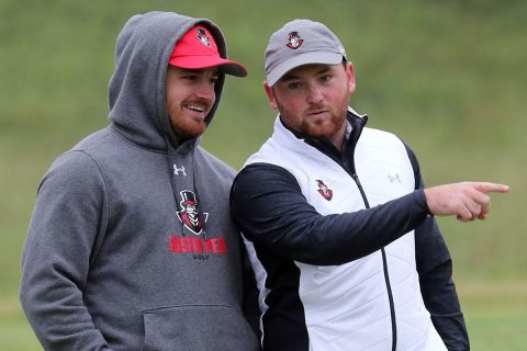 Austin Peay Men's Golf sit just 10 shots off the lead in Nashville at Ryman Hospitality Intercollegiate. (APSU Sports Information)
