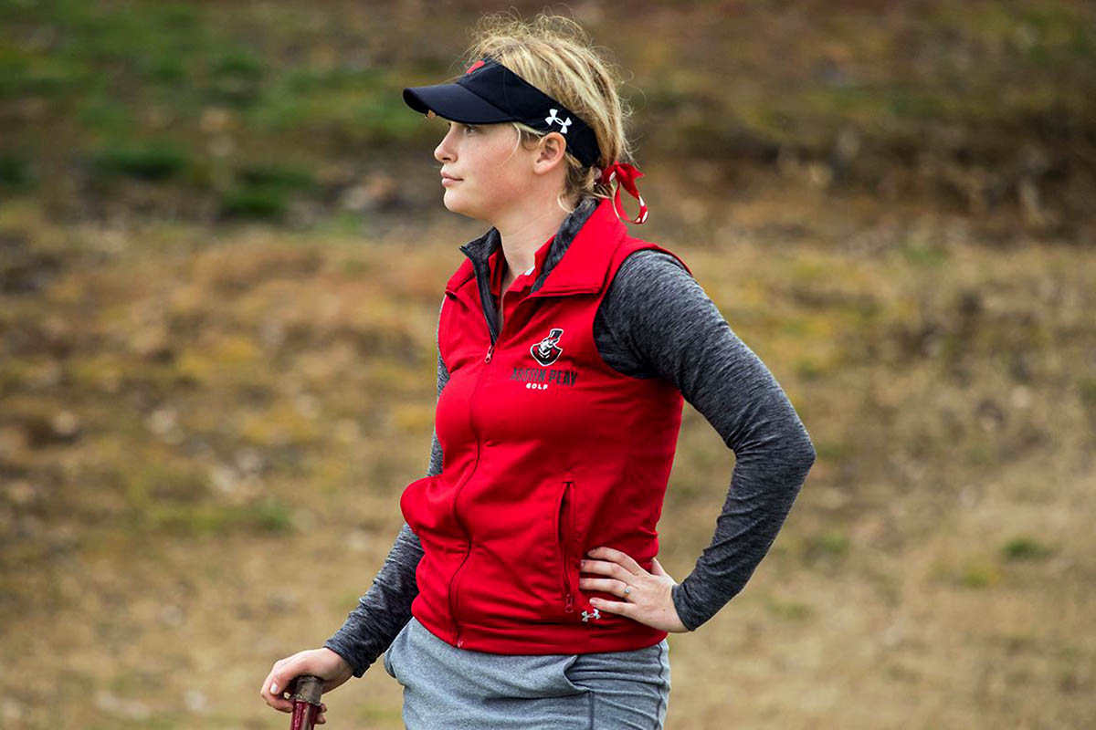 Austin Peay Women's Golf junior Meghann Stamps shoots a pair of 76s to lead Govs at Jan Weaver Invitational. (APSU Sports Information)