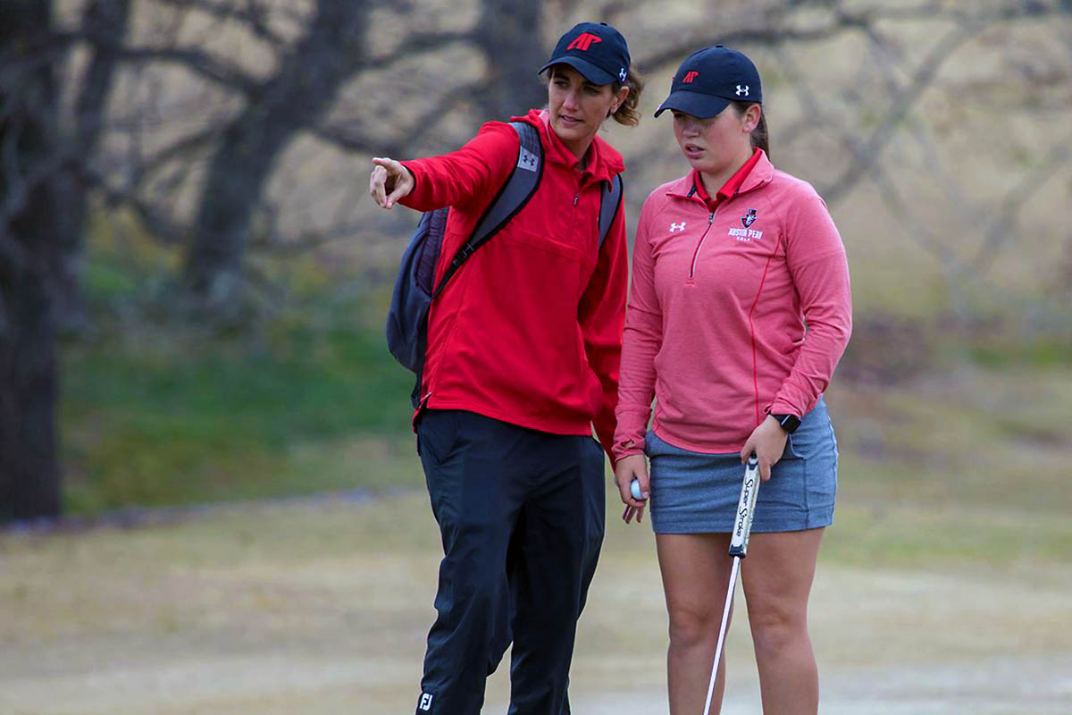 Austin Peay Women's Golf finished regular season at Murray's Jan Weaver Invitational. (APSU Sports Information)