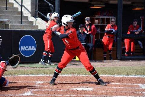 Austin Peay Softball beats Jacksonville State 3-1 in opener before falling 3-0 in nightcap, Friday. (APSU Sports Information)