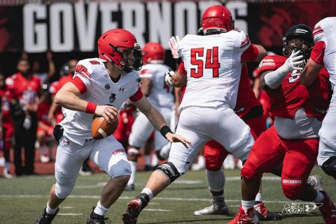 Austin Peay Football held their Red and White Spring game Saturday at Fortera Stadium. (APSU Sports Information)