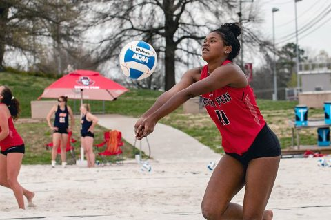 Austin Peay Beach Volleyball finishes ASUN Conference play against Jacksonville State, Coastal Carolina this weekend. (APSU Sports Information)