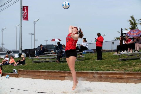 Austin Peay Beach Volleyball wrapped up ASUN Conference play at Conway Classic. (APSU Sports Information)
