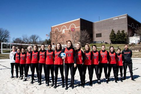 Austin Peay Beach Volleyball head to Macon Georgia for the ASUN Beach Championship. (APSU Sports Information)