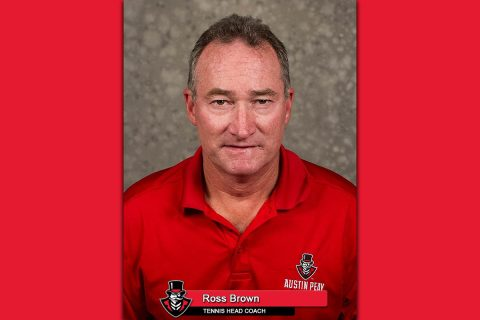 APSU Tennis Head Coach Ross Brown