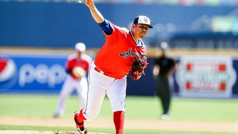 Nashville Sounds pitcher Ariel Jurado Spins Game One Gem in 3-1 Win. (Nashville Sounds)