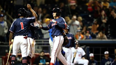 Nashville Sounds take down Iowa Cubs 8-2 Friday night at First Tennessee Park. (Nashville Sounds)